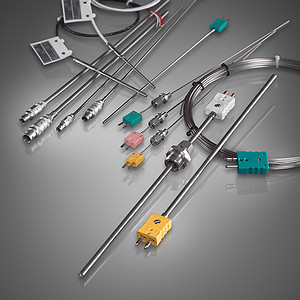 Sheath thermocouples without protection tube