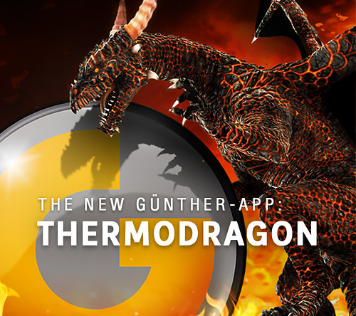 The new GÜNTHER-App: ThermoDragon